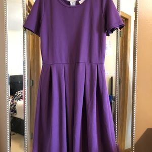 Purple Amelia Dress